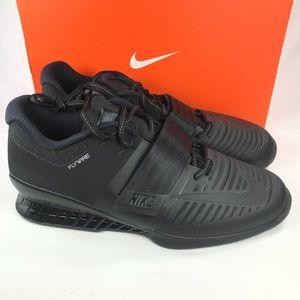 Nike Romaleo 3 Triple Black Multiple Mens Sizes